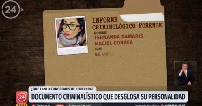 """CNTV formulará cargos contra TVN: el reportaje de Fernanda Maciel """"constituye una agresión psíquica y social"""""""