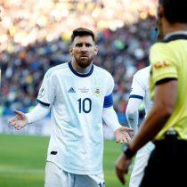 Las razones de la expulsión de Messi y Medel según el acta arbitral