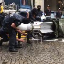 Policía italiana incautó arsenal de guerra con misil incluido a hinchas radicales de la Juventus