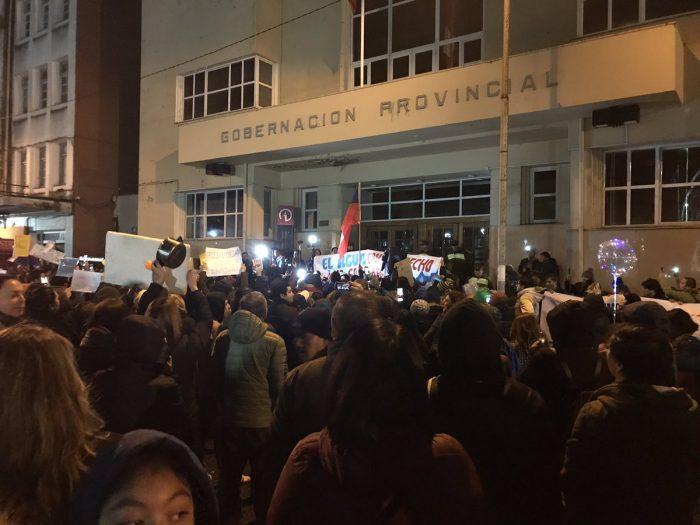 Osorno perdió la paciencia y salió a las calles a protestar: no hay fecha para el restablecimiento del agua potable