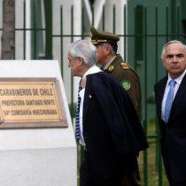 Ley Antiterrorista y FF.AA. contra el narcotráfico: Piñera insiste con sus caballitos de batalla en visita a la atacada Comisaría de Huechuraba
