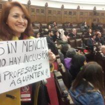 """""""Profesores aguanten"""": la intervención de una docente durante el Comité Central del PS"""