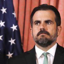Más presión sobre Rosselló: presidente de la Cámara de Puerto Rico da ultimátum al gobernador