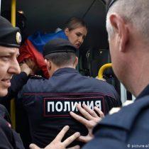 Autoridades rusas detienen a varios líderes opositores