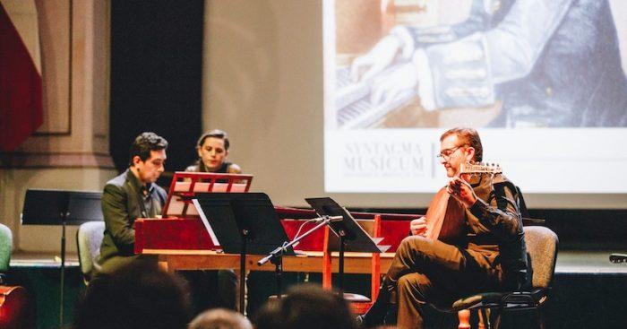 Concierto gratuito: compositores del barroco temprano alemán con Syntagma Musicum en Teatro Aula Magna USACH