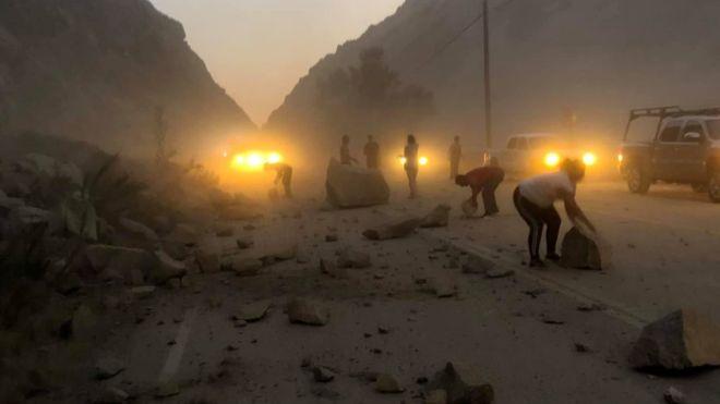 Terremoto en California: un nuevo sismo de magnitud 7,1 sacude el sur del estado