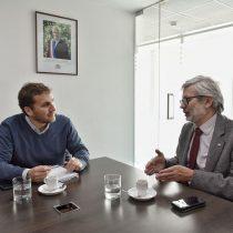 Ministro Fontaine presenta a nuevo vicepresidente ejecutivo de Corfo Pablo Terrazas
