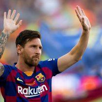 El Barça viaja a Estados Unidos sin Messi, lesionado en el entrenamiento