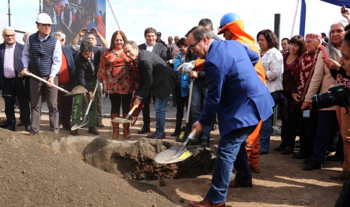 Con cápsula del tiempo y fiesta vecinal se colocó la primera piedra del futuro Parque Brasil