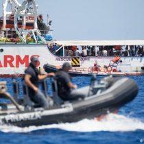 Fiscalía italiana ordena el desembarco de los migrantes de Open Arms