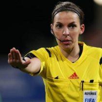 Stephanie Frappart, la primera árbitro que dirigirá una final europea