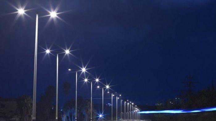 Municipio cambia su alumbrado público e invierte en tecnología LED