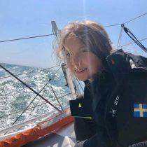 En un velero y con cero emisiones: comenzó la travesía ecológica de Greta Thunberg en el Atlántico