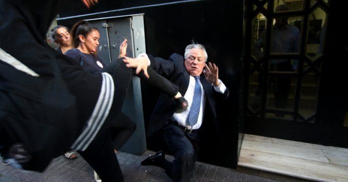 Imputadas por agresión al presidente del Tribunal Constitucional aceptan suspensión condicional