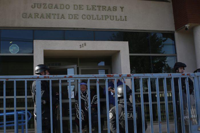 Comienza audiencia de preparación de juicio oral por crimen de Catrillanca