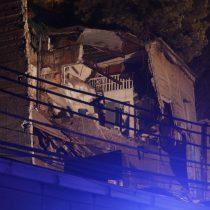 Tragedia en Valparaíso: derrumbe de casa en pleno centro porteño deja al menos seis víctimas fatales