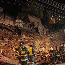 Derrumbe en Valparaíso: intendente Martínez confirma seis víctimas fatales y no descarta que haya más fallecidos