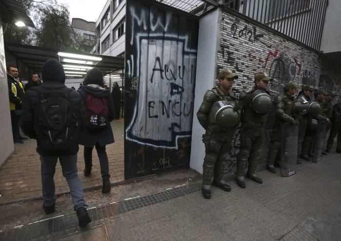Sin Piñera será reunión para analizar crisis en el Instituto Nacional
