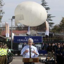 Estamos al aire: ministro Chadwick confirmó que globo de televigilancia de Puente Alto está operativo