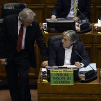 A pesar de los argumentos de Moreira, comisión de DD.HH. del Senado rechaza censura a presidencia de Alejandro Navarro