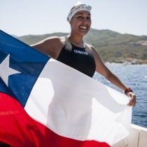 Bárbara Hernández se convierte en la primera chilena en cruzar el Canal de la Mancha