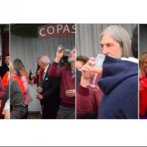 ¿0,0 gramos en el alcotest?: La jornada de copas del senador Juan Pablo Letelier
