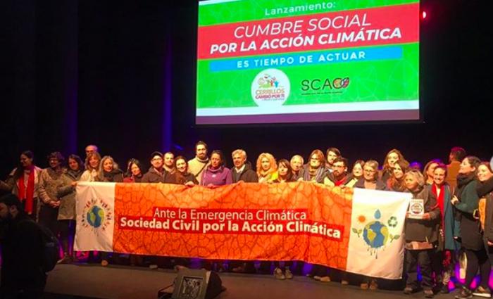 Municipalidad y Sociedad Civil por la Acción Climática lanzan COP25 ciudadana