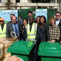 Comuna se adelanta la nueva forma de reciclar que se aplicará en todo Chile