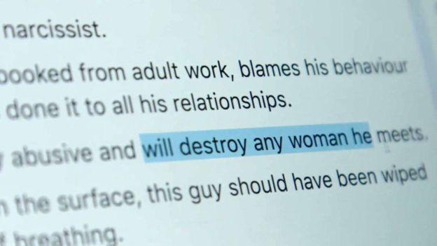 """Los grupos secretos de Facebook donde mujeres denuncian a sus exparejas para """"advertir a otras mujeres"""""""