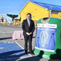 Nuevas campanas de reciclaje de vidrio en Punta Arenas se suman a iniciativa Magallanes Elige Vidrio