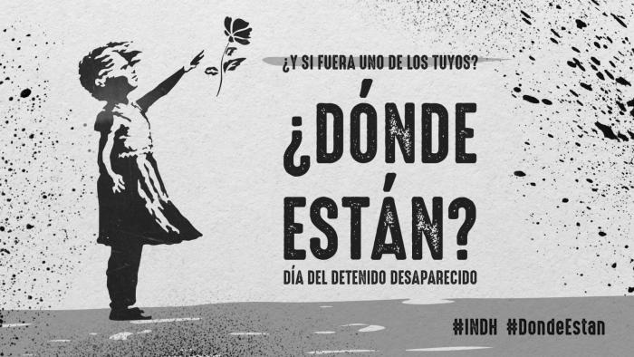 INDH proyectará imagen recordando a los detenidos desaparecidos en el Museo Nacional de Bellas Artes