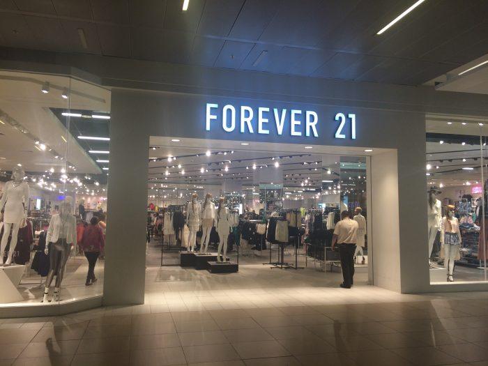 Forever 21 se prepara para una posible bancarrota