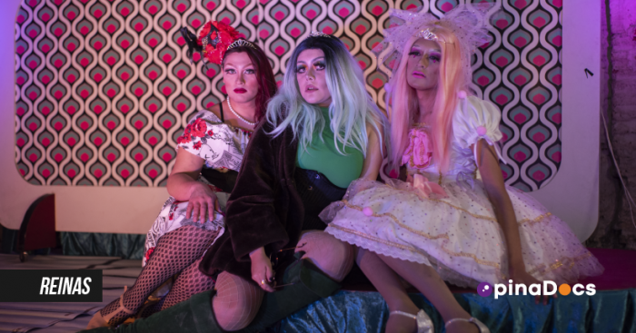 """Estreno de """"Reinas"""" en OpinaDocs: cuando la ficción se mezcla con la realidad en el mundo """"drag"""""""