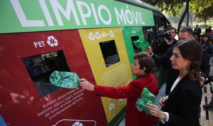 Municipalidades reciclan entre el 0,6% y 1,7% del total de basura recolectada