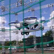 Como en Volver al Futuro: auto volador es probado de forma óptima en Japón