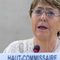 Bachelet condena violencia en Hong Kong e invita a las autoridades a