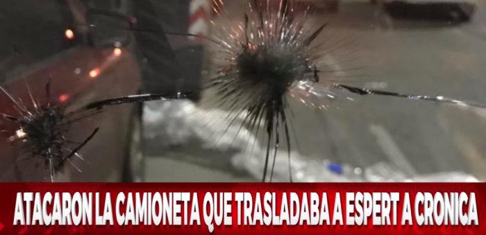 Atacan con piedras vehículo en que viajaba candidato presidencial argentino José Luis Espert
