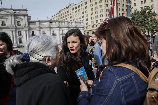 """Camila Vallejo y Gael Yeomans le ponen presión al Gobierno y apuran despacho del proyecto de """"40 horas"""""""
