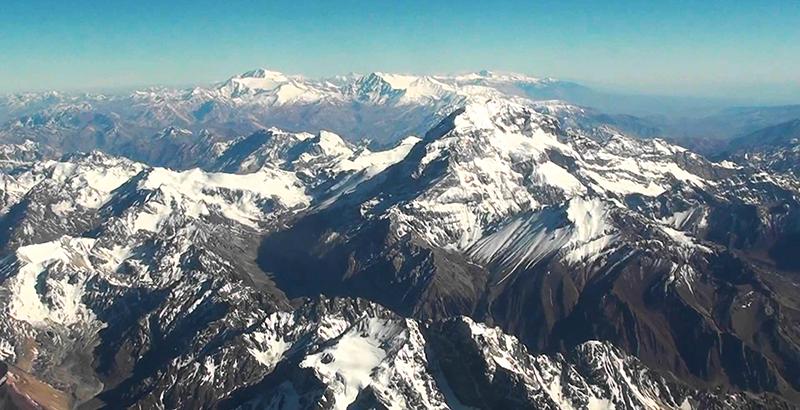 La cubierta de nieve ha retrocedido 20% en Cordillera de los Andes, según estudio - El Mostrador