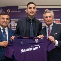 Da el salto: Erick Pulgar fue presentado como nuevo refuerzo de la Fiorentina