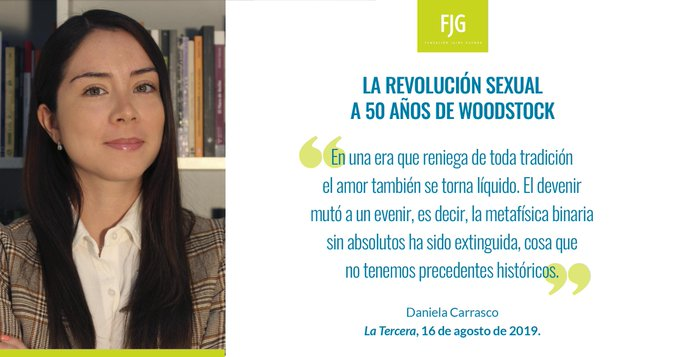 """Del devenir al evenir: investigadora de la Fundación Jaime Guzmán se quejó del """"feminismo domiciliado en la izquierda"""""""