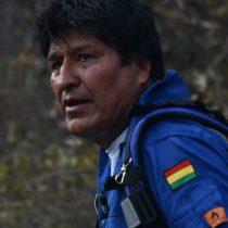 Rescatando al bombero Evo: presidente de Bolivia se pierde en la selva mientras apagaba incendios forestales