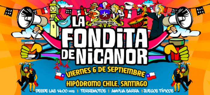 La tradicional Fondita de Nicanor celebrará por primera vez las Fiestas Patrias en Santiago