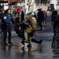 Enfrentamientos marcaron fallida marcha