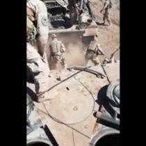 Ejército anuncia sumario por violento