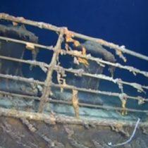 Las sorprendentes imágenes de los restos del Titanic en el fondo marino