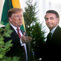 """Piñera no es su único respaldo: Trump le da todo su apoyo a Bolsonaro y dice que """"está haciendo un gran trabajo"""""""