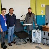 Comuna implementa unidad portátil para atención dental de pacientes postrados