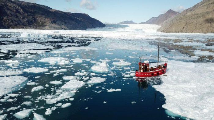 """Cambio climático: según científicos el hielo de Groenlandia enfrenta """"la pena de muerte"""""""