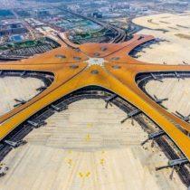 Pekín-Daxing: el espectacular aeropuerto con forma de estrella de mar gigante que estrena la capital china
